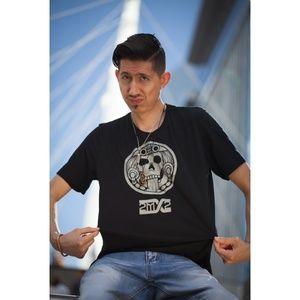 🆕 Aztec Calendar T-shirt Unisex Size Medium